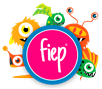 Fiep_logo met monsters